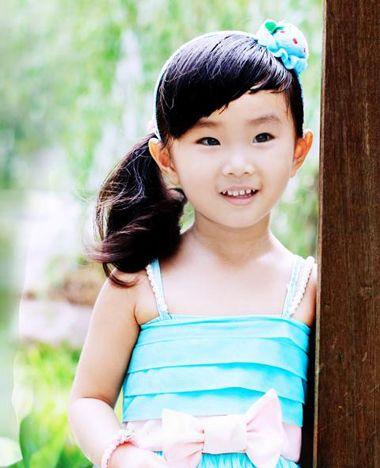 幼童梳头发型 4岁儿童梳头发型