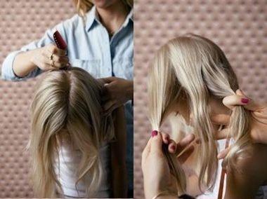 小学生发型女梳的方法 小学生发型扎法过程图片