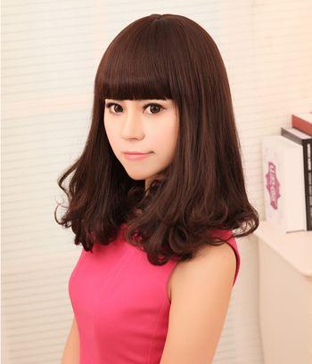 齐肩短发可以烫梨花头吗 假发梨花头短发发型(4)