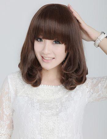 齐肩短发烫梨花头可以吗 最新假发梨花头短发发型 发型师姐图片