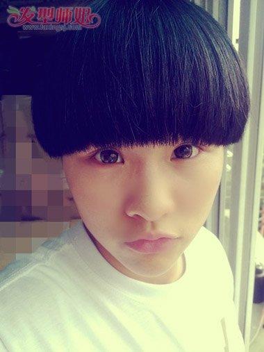 蘑菇头适合什么脸型的男生 脸长的男生理蘑菇头好看吗 发型师姐