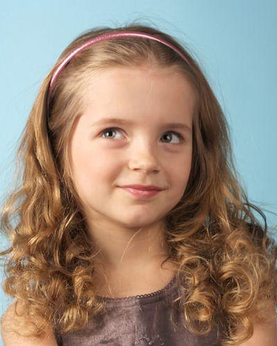 6岁儿童发型 儿童烫发发型图片(3)