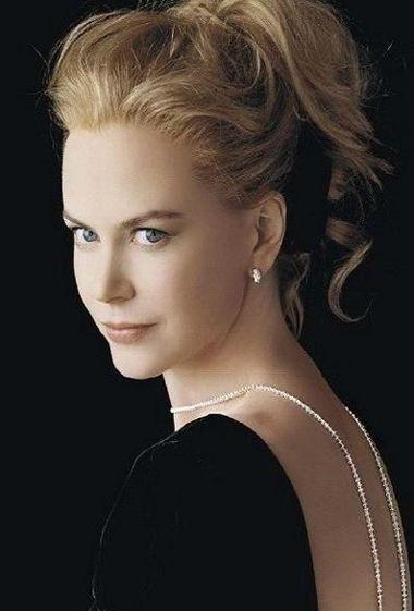 职场女性发型照片 女性职场晚礼服发型(4)图片