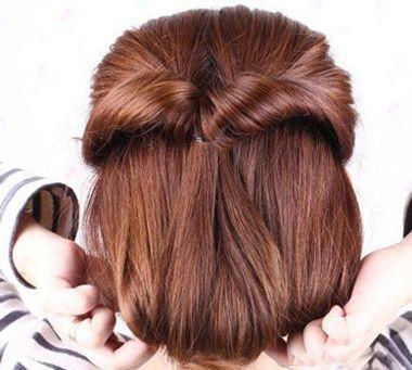 女儿童短发发型扎法视频|【图】女宝宝短发发