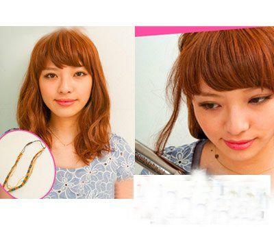 中年韩式发型 韩式发型盘发图解图片