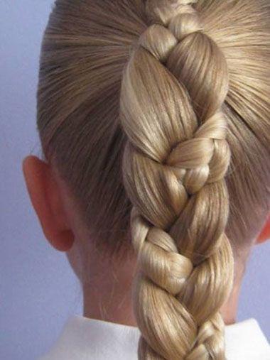 女童发型设计步骤 儿童发型简单编法(5)图片