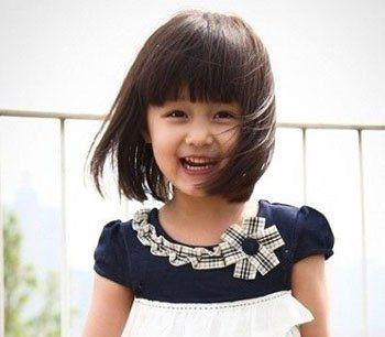 韩国女宝宝可爱发型 女生短发时尚可爱发型