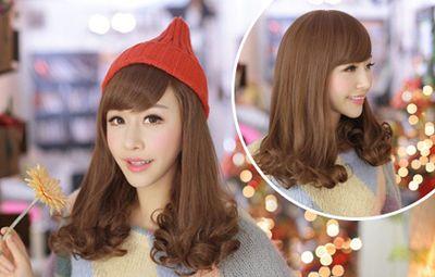 斜刘海梨花头 斜刘海的梨花头发型图片 发型师姐
