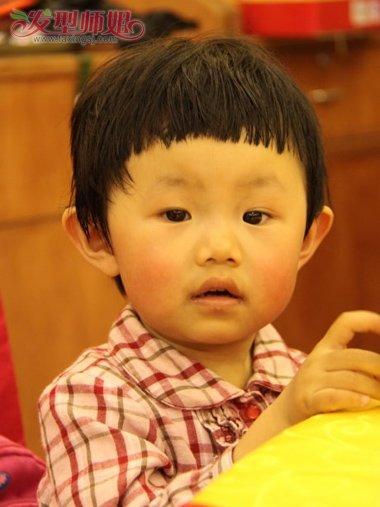 发型设计 儿童发型 >> 女婴幼儿发型 幼儿发型·短发(4)  2016-12-13图片
