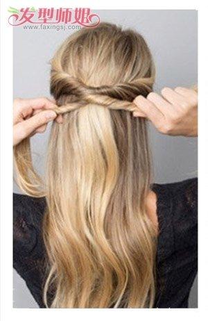 怎样扎长头发发型好看 学扎长头发简单发型(2)图片