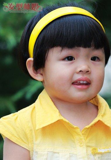 小孩儿学生发型图片