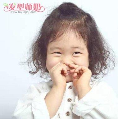 小学生发型标准图片 小孩儿学生发型图片(3)