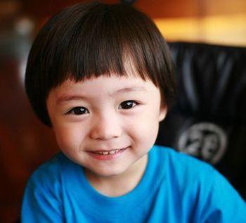 男宝宝圆脸头像
