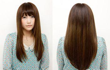 大圆脸适合的刘海发型 大圆脸适合的平刘海发型图片图片