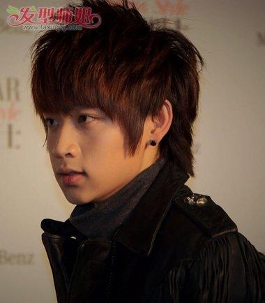 男的都有什么刘海发型 男生桃心刘海发型(3)