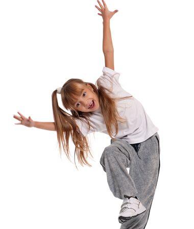 儿童跳舞扎辫子发型 小女童发型扎法(4)