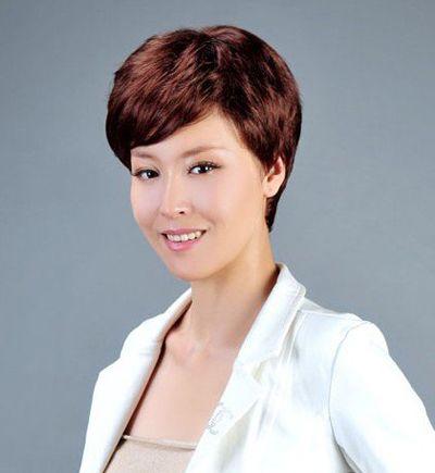 中年妇女烫发的发型 中年人最新的流行烫发发型图片(3图片