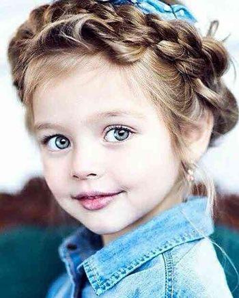 小女孩编辫子发型大全 小女孩编发发型图解图片