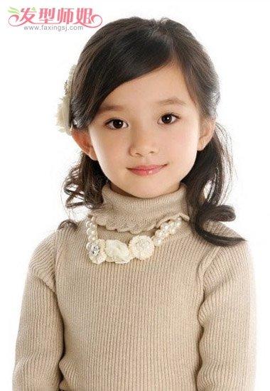 小学生扎头发简单又好看图解扎小学生头发郑州难上小学图片