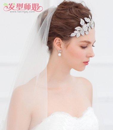 头发少的新娘子适合什么盘发 新娘盘头发的方法_发型图片
