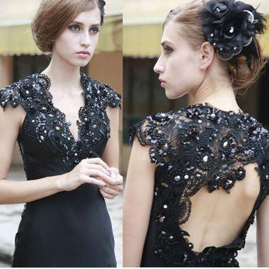 短发穿晚礼服应如何打理 穿晚礼裙短发发型图片