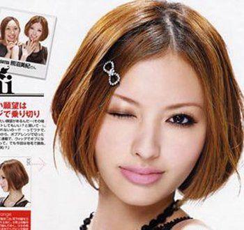 长脸女人适合梳中分吗 长脸适合怎样梳头图片_发型师姐图片