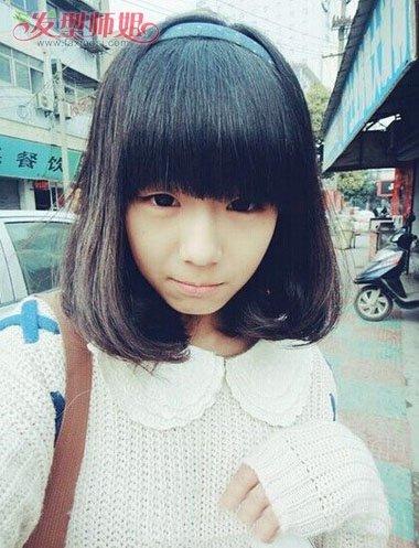 梨花烫适合什么刘海 梨花头刘海图片 发型师姐