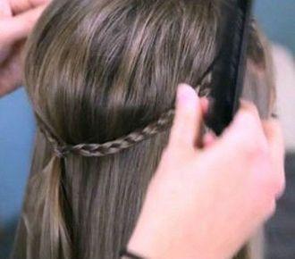 小女孩编发发型扎法 2图片