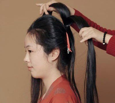 古代盘头发的方法 怎么盘古代的发型图解