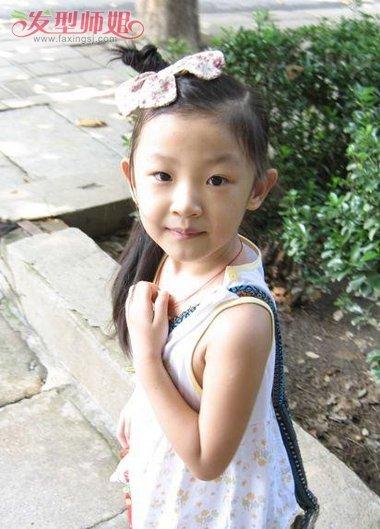 小学生漂亮发型简单扎法步骤
