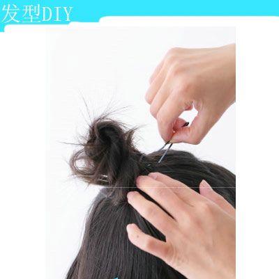 儿童短头发简单的发型扎法 小女童短发扎发发型(3)