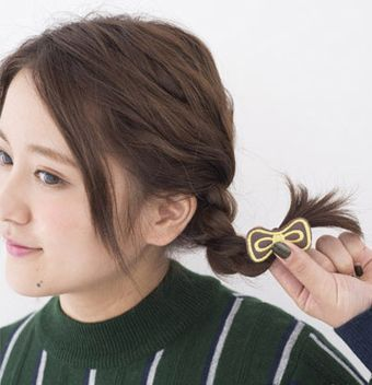 短发怎么编头发简单又好看
