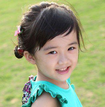 小女孩盘发发型图片 小女孩盘发发型大全(2)