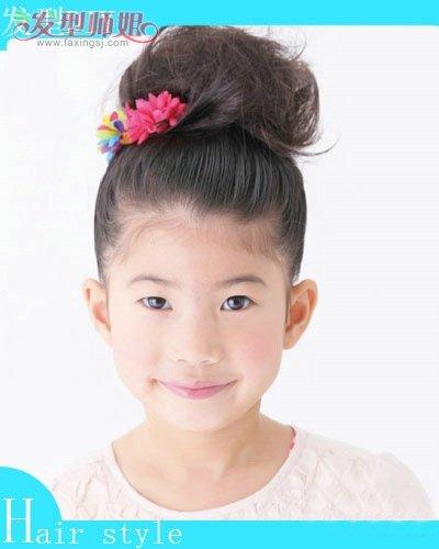 小孩子的发型怎么扎步骤 小孩漂亮发型扎法