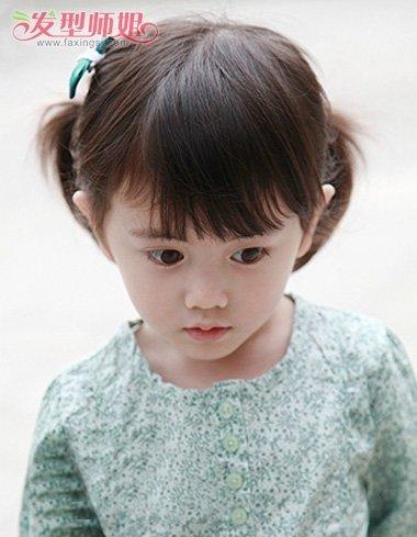 短发带给小孩子的困扰也不小呢