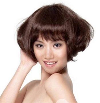 2016年沙宣烫发发型 沙宣个性短发烫发图片