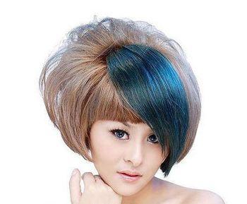 2016年沙宣烫发发型 沙宣个性短发烫发图片 发型师姐