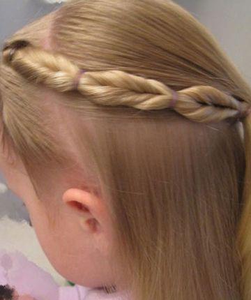 如何给小孩扎头发 12岁扎头发大全图片
