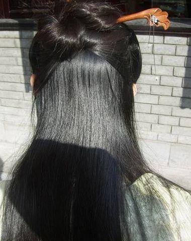 如何盘中国古典发型 古代女生盘发发型图解(6)