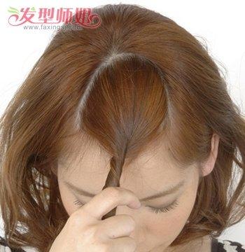 梨花烫怎样扎头发好看 梨花烫发型扎法图片