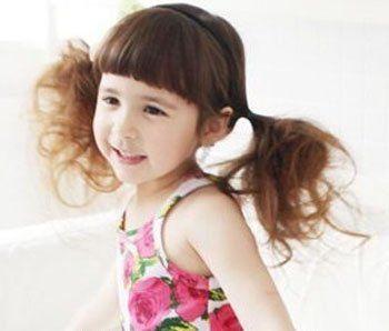 三岁女宝宝烫头发发型(2)