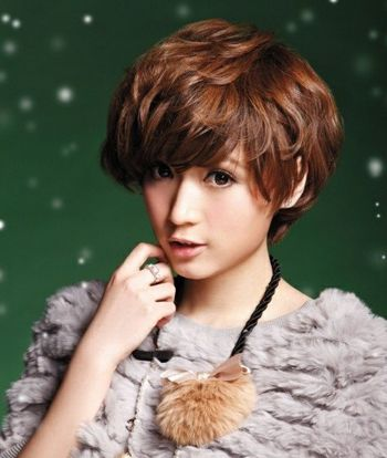 女士沙宣短发烫发型图片 2016韩式沙宣烫发发型