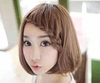 初中生少女编发发型 编辫子发型大全图片