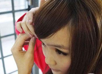 发型年级初中扎法图解适合初中生的初中扎法发型代数女生一题图片