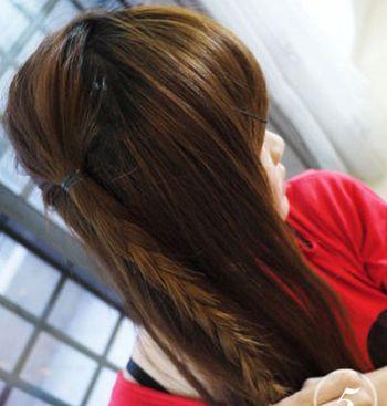 儿童发型女孩编发方法