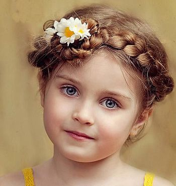 女童的发型怎样扎好看 儿童短发发型扎法大全(2)图片