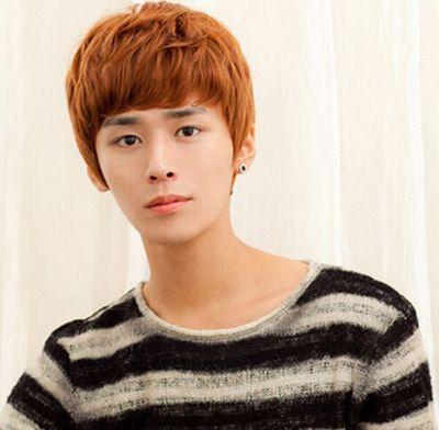 中学生男生刘海发型 学生发型图片(2)图片