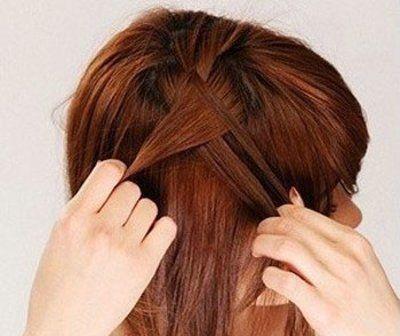短发梨花头发型最需要的,中 短发 梨花头怎样 扎头发才好看呢?图片