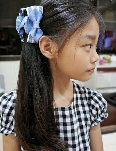 儿童长发扎什么发型好 简单漂亮女童的发型扎法(5)图片
