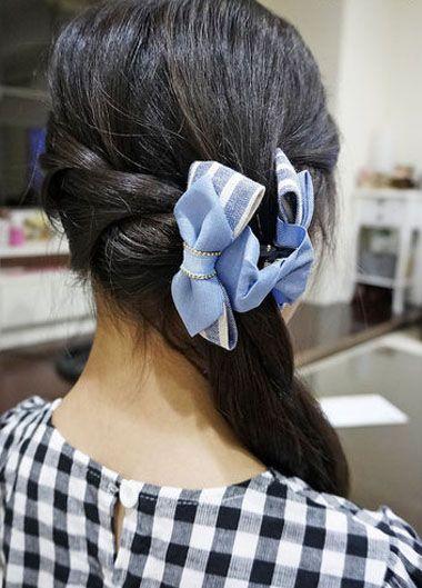 中小学生扎哪种发型好看 小学生简单发型扎法步骤(7)图片